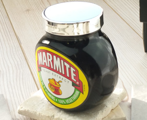 Sterling Silver Marmite Lid 250g
