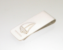 View Sailing boat money clip in detail