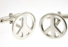 View Silver CND Cufflinks in detail