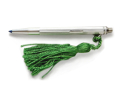 View Sterling Silver Manton Ladies Tasselled Pen in detail