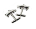 View Silver Football Boot Cufflinks in detail