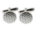 View Silver Golf Cufflinks in detail