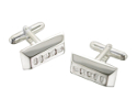 View Silver Ingot Cufflinks in detail