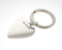 View Silver Plectrum Keyring in detail